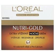 Loreal Nutri-Gold Extra výživný noční krém 50 ml