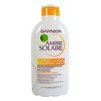 AMBRE SOLAIRE  opalovací mléko F20,