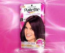 Palette Instant Color 11 Tmavá třešeň 25 ml postupně smývatelná barva na vlasy