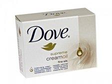 Dove Supreme Cream Oil krémové toaletní mýdlo 100 g