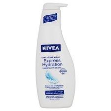 NIVEA Body tělové mléko pro normální pokožku 400ml, pumpa