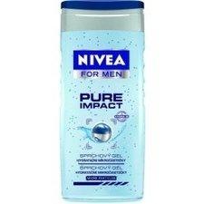 Nivea for Men Pure Impact 250 ml pánský sprchový gel na tělo, tvář a vlasy