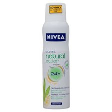 NIVEA deo sprej 150ml Pure&Natural Jasmín