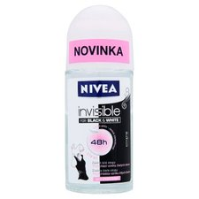 NIVEA roll-on 50ml Invisible For Black&White Clear
