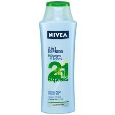 NIVEA šampon 250ml Care Express 2v1 - všechny typy vlasů