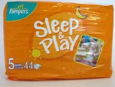 PAMPERS SLEEP&PLAY Junior 11-25kg 44ks