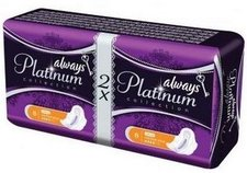 Always Platinum Collection Ultra Normal Plus 2 x 8 dámské vložky