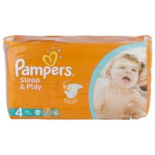 Pampers Sleep&Play MAXI 7-19 kg/50 ks