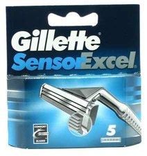 GILLETTE náhradní hlavice 5ks Sensor Excel