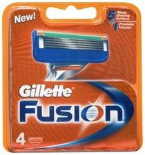 Gillette FUSION náhradní hlavice 4ks