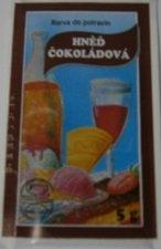 Barva potravinářská prášková - hnědá