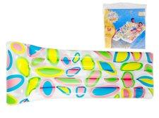 Lehátko nafukovací s barevným potiskem 183x76cm asst 2 druhy v sáčku