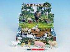 Zvířátka farma plast 5-10,5cm asst 11 druhů