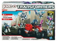 Hasbro KRE-O Trasformers Stavebnice s motocyklem a raketometem