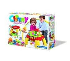 Clemmy - Veselý hrací stolek s kostkami a zvířátky