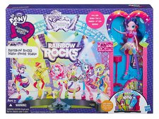 MLP Equestria Girls jeviště hrací set