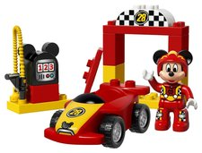 LEGO DUPLO Disney 10843 Mickeyho závodní auto