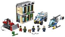 LEGO City 60140 Police Vloupání buldozerem