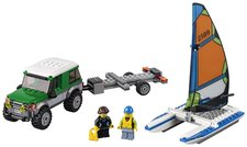 LEGO City 60149 Great Vehicles 4x4 s katamaránem