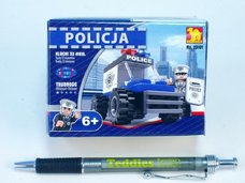 Stavebnice Dromader Policie Auto 33ks
