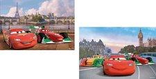 Puzzle Ravensburger  Cars McQueen a přátelé  2 x 12 Dílků