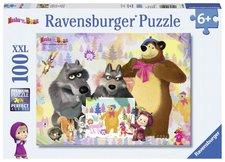 Ravensburger Puzzle Máša a Medvěd XXL 100 dílků