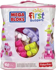 Mega Bloks First Builders Big Building Bag Girls 60ks