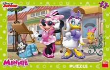Puzzle Walt Disney Minnie na Monmartu 15D