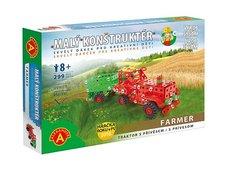 Pexi Farmar traktor s přívěsem-malý konstruktér