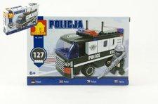Stavebnice Dromader Policie Auto Dodávka 127ks