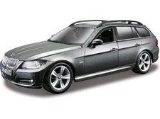 Bburago Kit BMW 3 Series Touring 1:24 stříbrná