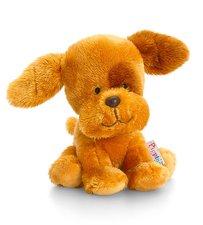 Keel Toys Pippins Plyšový pejsek hnědý 14cm