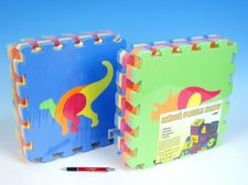 Wiky Pěnové puzzle Dinosauři 30x30cm 10ks