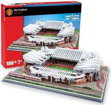 Nanostad 3D puzzle fotbalový stadion UK Old Trafford Manchester United 186 ks