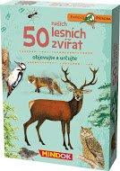 Mindok Expedice příroda: 50 lesních zvířátek