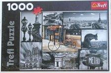 Trefl Puzzle Paříž koláž 1000 dílků