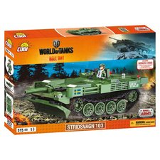 Cobi 3023 World of Tanks Stridsvagn 103 (S-Tank)