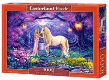 Castorland Puzzle Jednorožec v kouzelné zahradě 1000 dílků