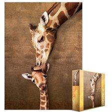 Eurographics Puzzle Žirafy - mateřský polibek 1000 dílků