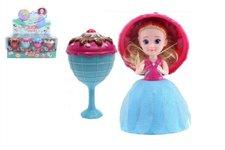 Panenka/Gelato/Cupcake - zmrzlinový pohár plast 16cm vonící 12 druhů