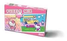 Puzzle MIX dílků HELLO KITTY