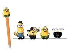 Minions: Nástavec na tužku-3druhy v setu