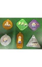 Reflexní bezpečnostní klíčenky (1/24) Minions