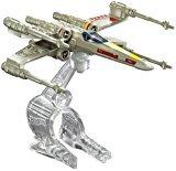 Mattel Hot Wheels Star Wars kolekce hvězdných lodí X-Wing Fighter Red 3