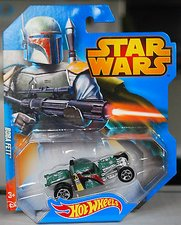 Hot Wheels Star Wars autíčko Boba Fett