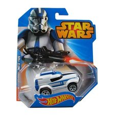Mattel Hot Wheels Star Wars autíčka 501st Clone trooper