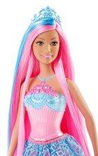 Barbie Dlouhovláska růžové vlasy