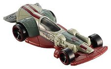 Hot Wheels Star Wars CarShips Slave I