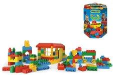 Kostky pro kluky plast 132ks v papírové krabici Wader od 12 měsíců