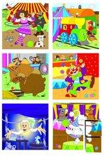 "Woody - Kubus 3x3 ""Mašinka - cirkus"""